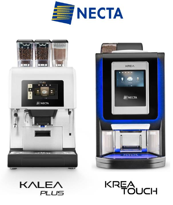 Kalea Plus & Krea Touch - great coffee breaks from Necta